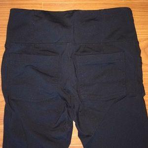 Athleta Pants - Black Athleta Leggings with Pockets